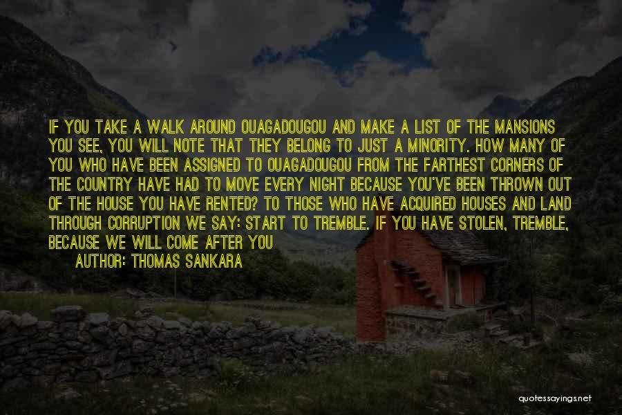 Thrown Around Quotes By Thomas Sankara