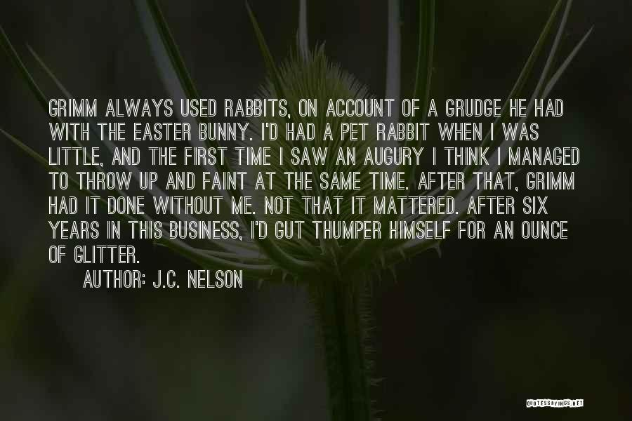 Thumper The Rabbit Quotes By J.C. Nelson