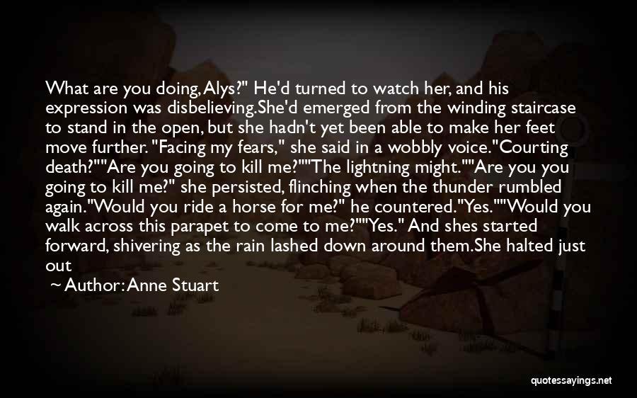 Thunder Lightning Quotes By Anne Stuart