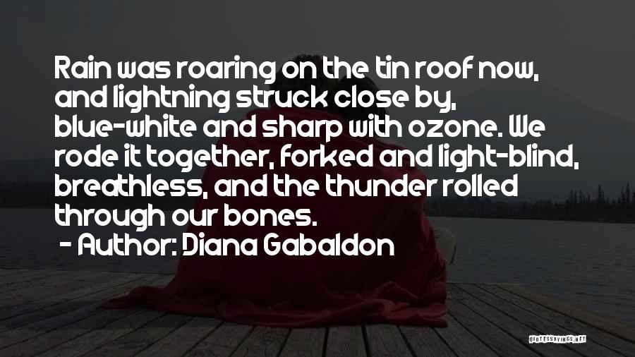 Thunder Lightning Quotes By Diana Gabaldon