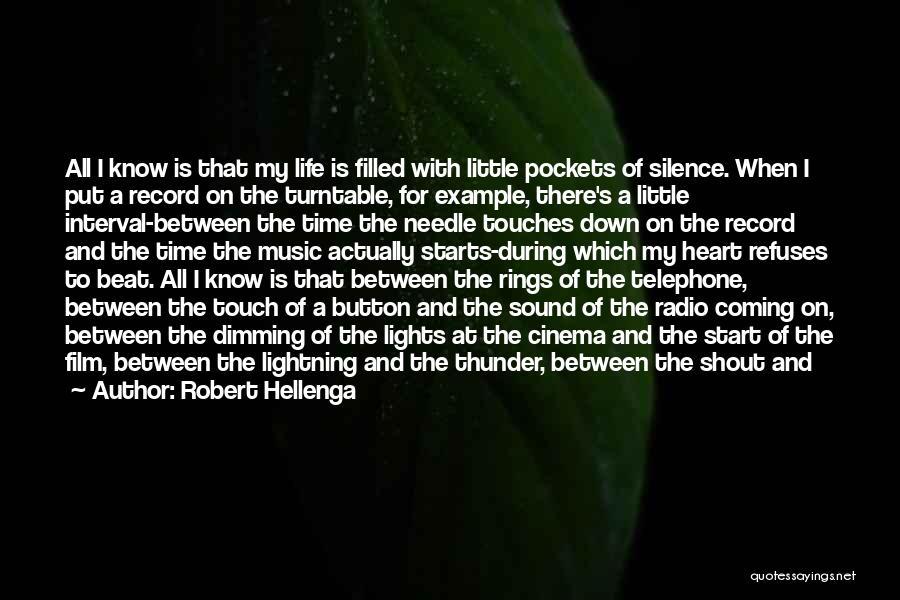 Thunder Lightning Quotes By Robert Hellenga