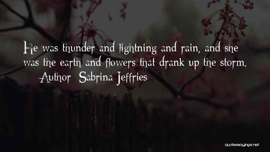 Thunder Lightning Quotes By Sabrina Jeffries