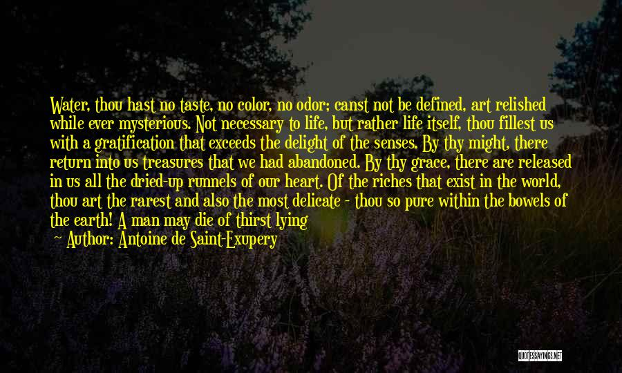 Thy Grace Quotes By Antoine De Saint-Exupery