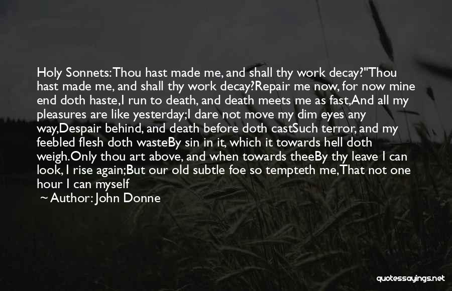 Thy Grace Quotes By John Donne
