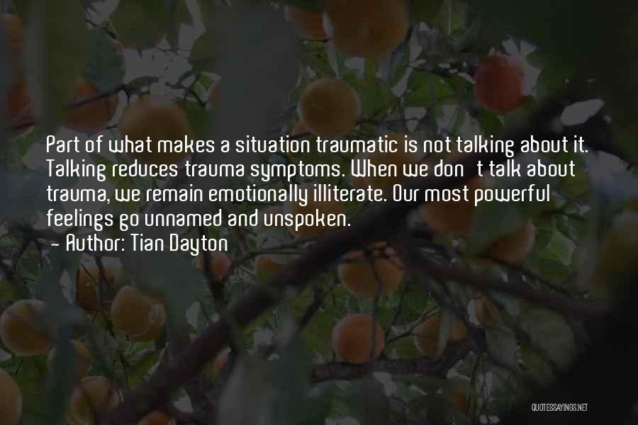 Tian Dayton Quotes 245919