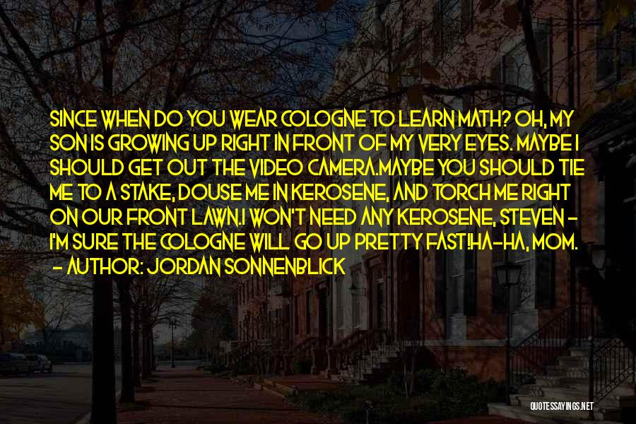 Tie Me Up Quotes By Jordan Sonnenblick