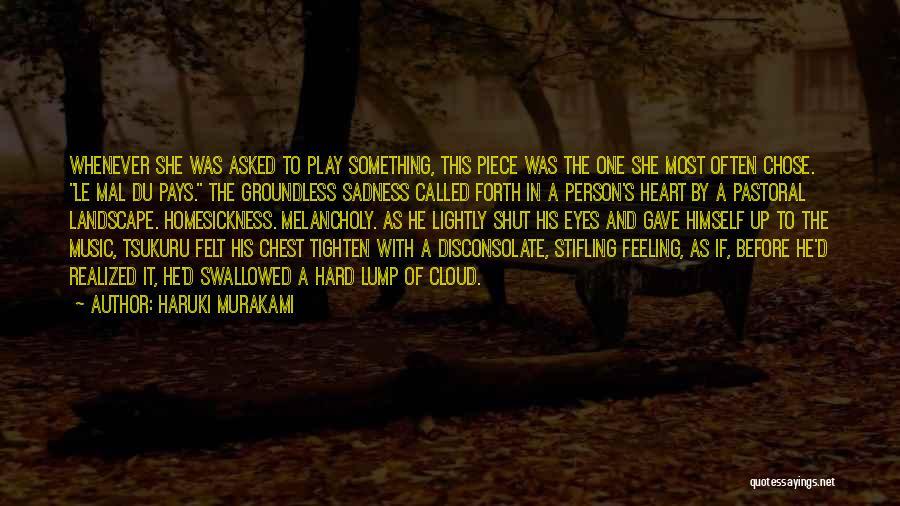 Tighten Up Quotes By Haruki Murakami