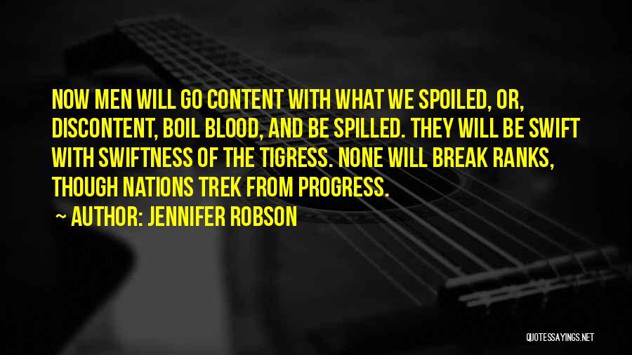 Tigress Quotes By Jennifer Robson