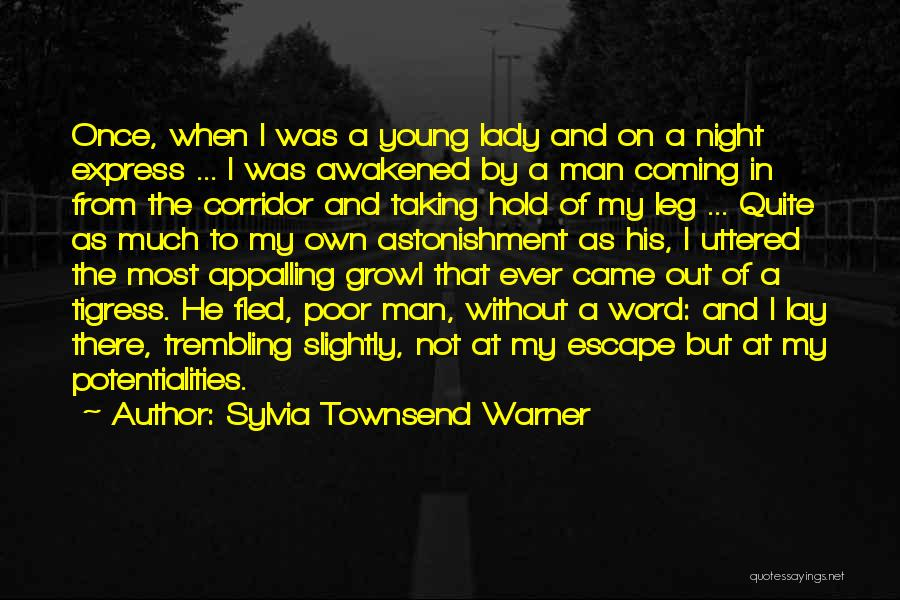 Tigress Quotes By Sylvia Townsend Warner