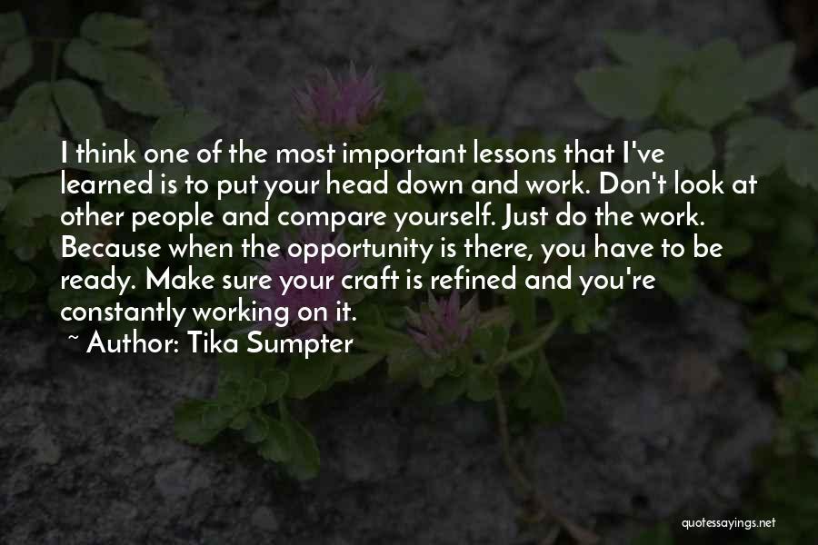 Tika Sumpter Quotes 1677801