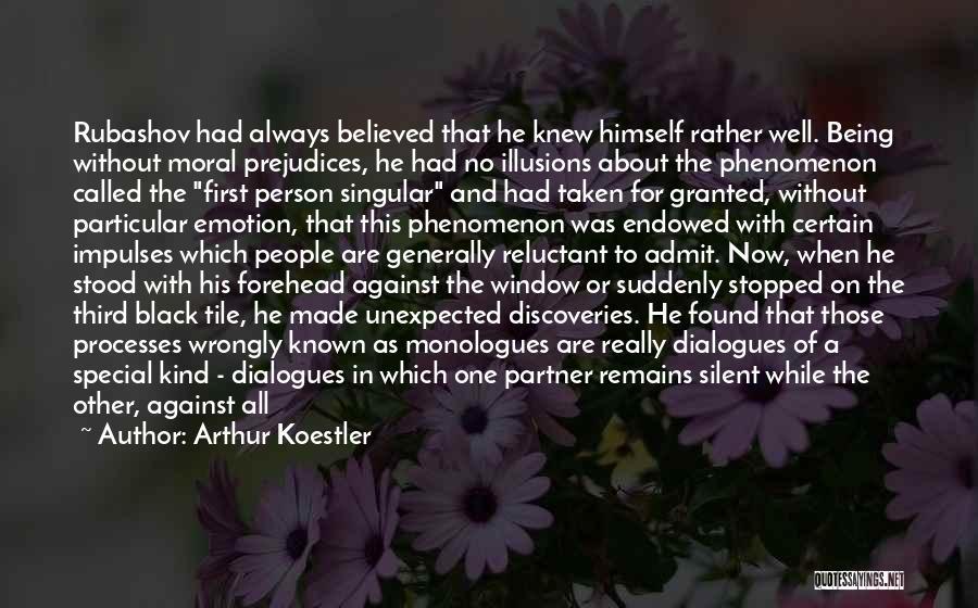 Tile Quotes By Arthur Koestler
