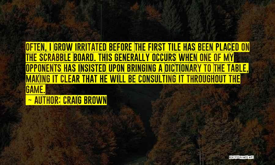 Tile Quotes By Craig Brown