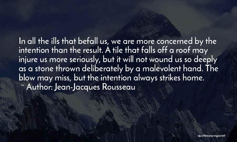 Tile Quotes By Jean-Jacques Rousseau
