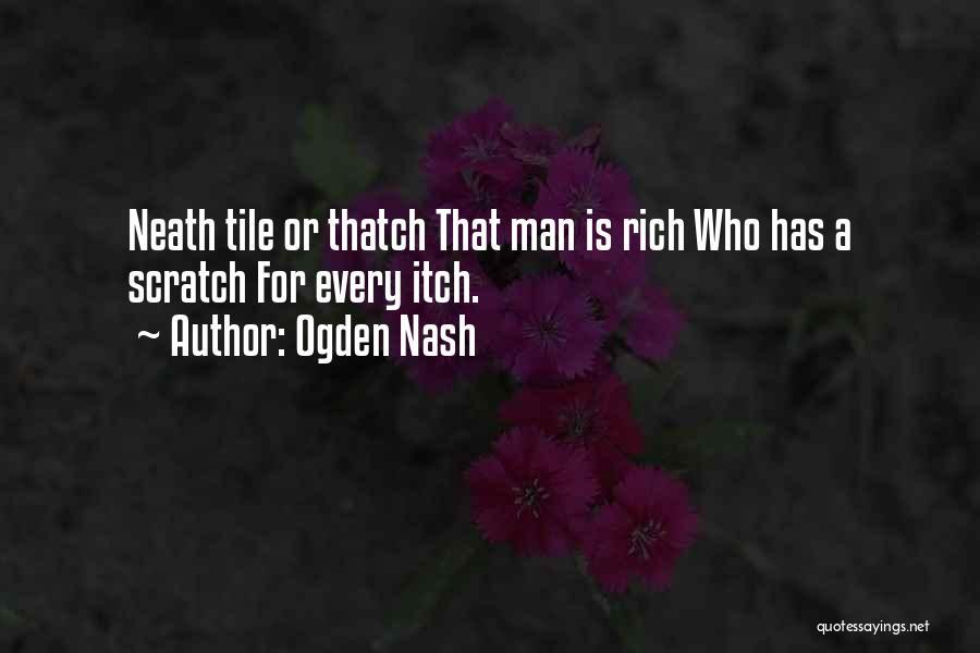 Tile Quotes By Ogden Nash