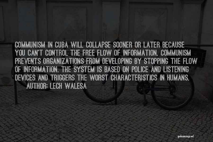 Till I Collapse Quotes By Lech Walesa