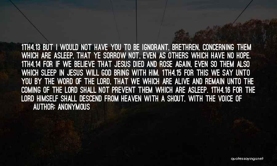 Till We Meet Again In Heaven Quotes By Anonymous
