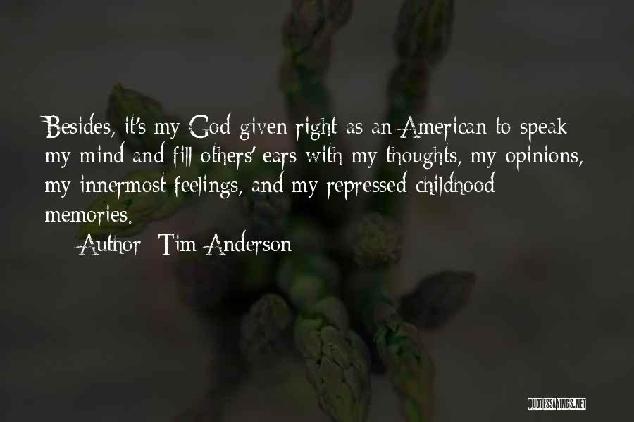 Tim Anderson Quotes 1192507