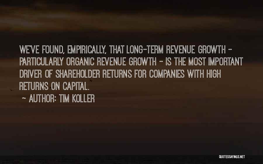 Tim Koller Quotes 882270