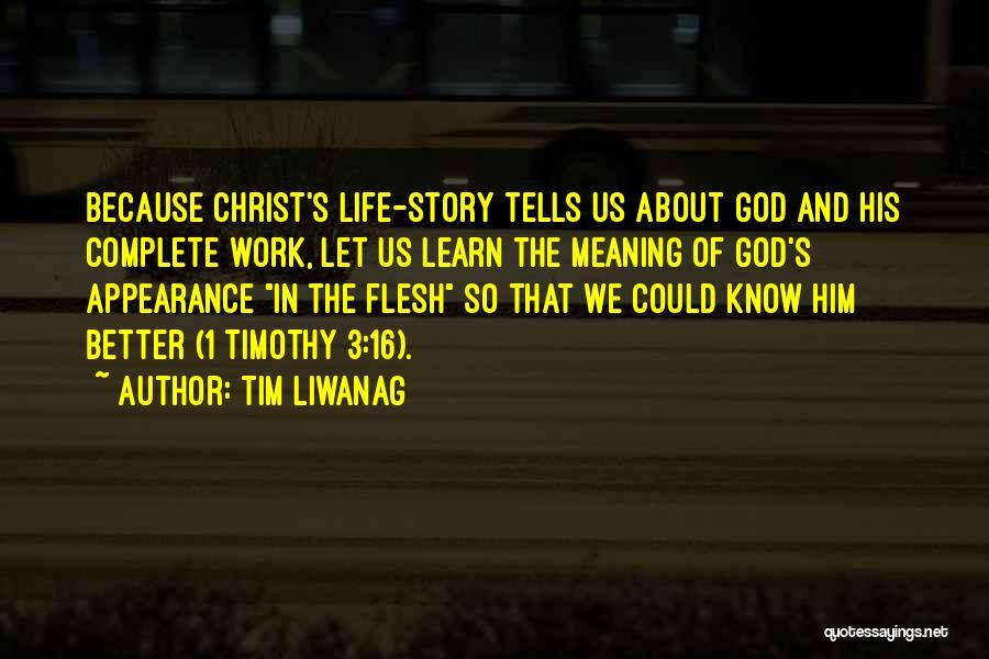 Tim Liwanag Quotes 1759797
