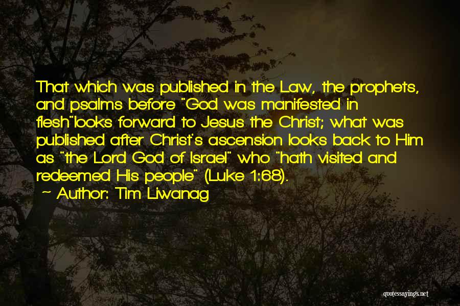 Tim Liwanag Quotes 245543
