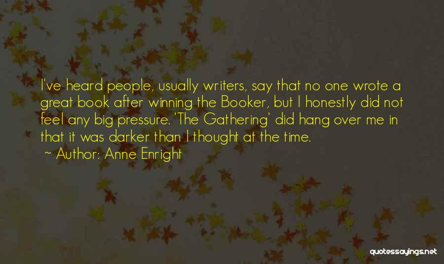 Time After Time Book Quotes By Anne Enright