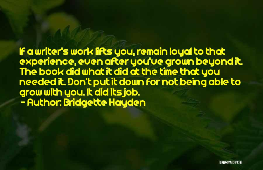 Time After Time Book Quotes By Bridgette Hayden