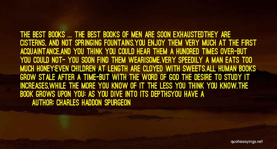 Time After Time Book Quotes By Charles Haddon Spurgeon