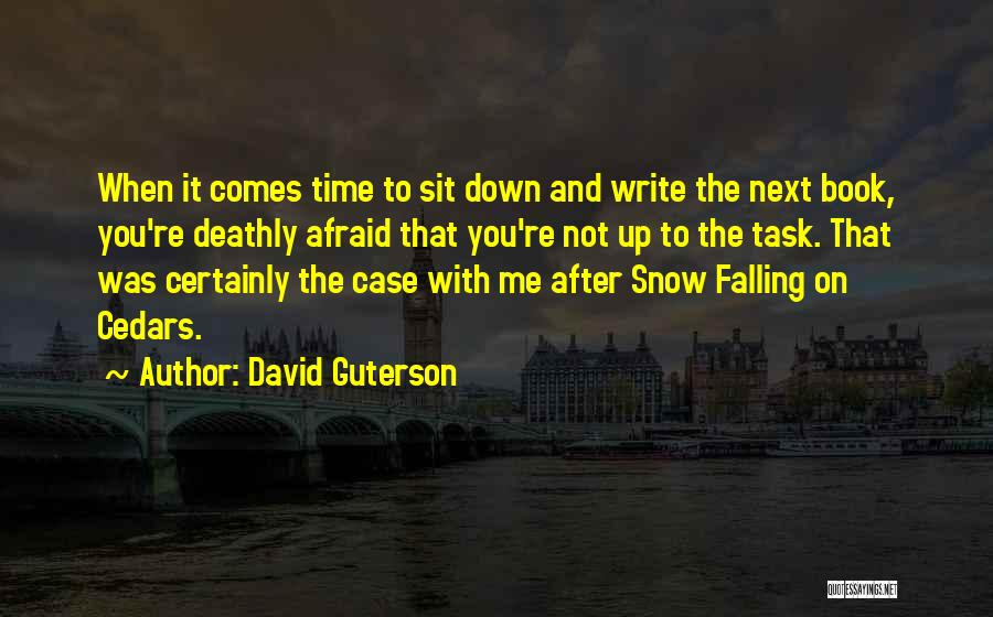 Time After Time Book Quotes By David Guterson
