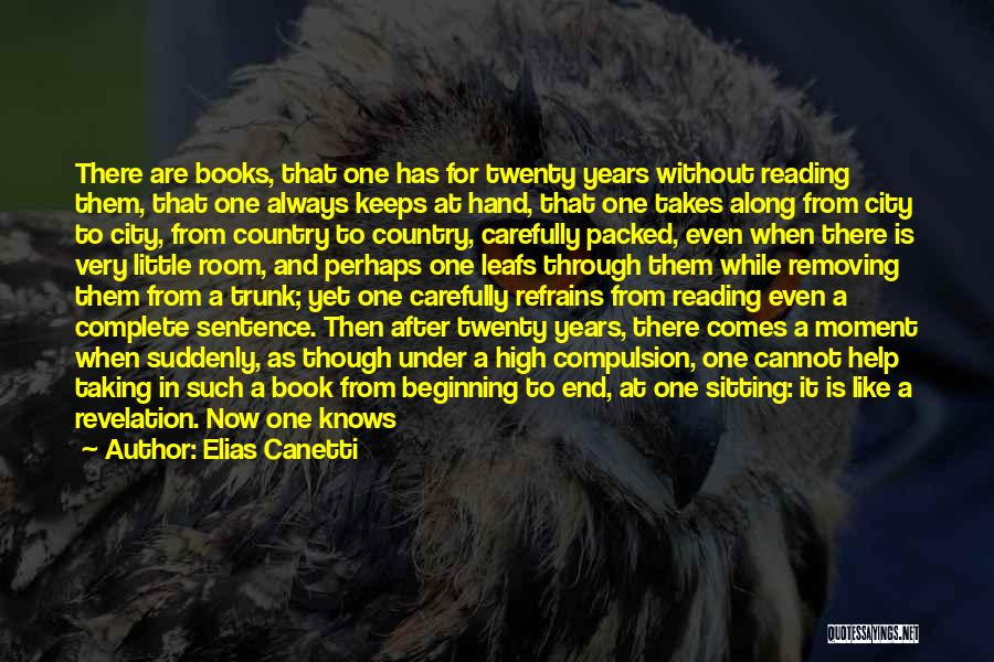 Time After Time Book Quotes By Elias Canetti