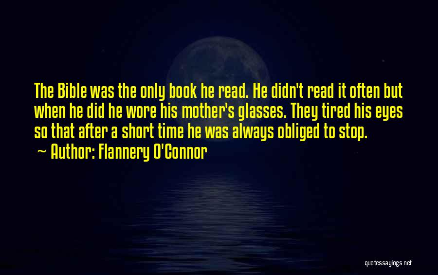 Time After Time Book Quotes By Flannery O'Connor