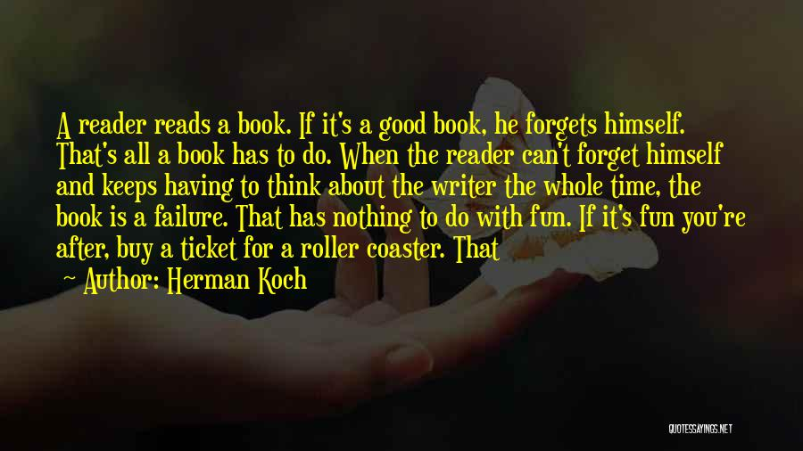 Time After Time Book Quotes By Herman Koch