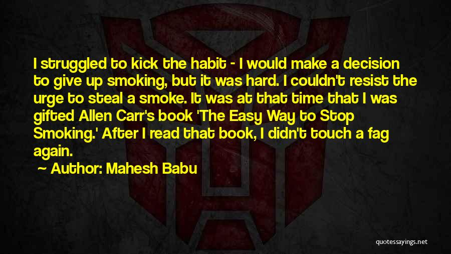 Time After Time Book Quotes By Mahesh Babu