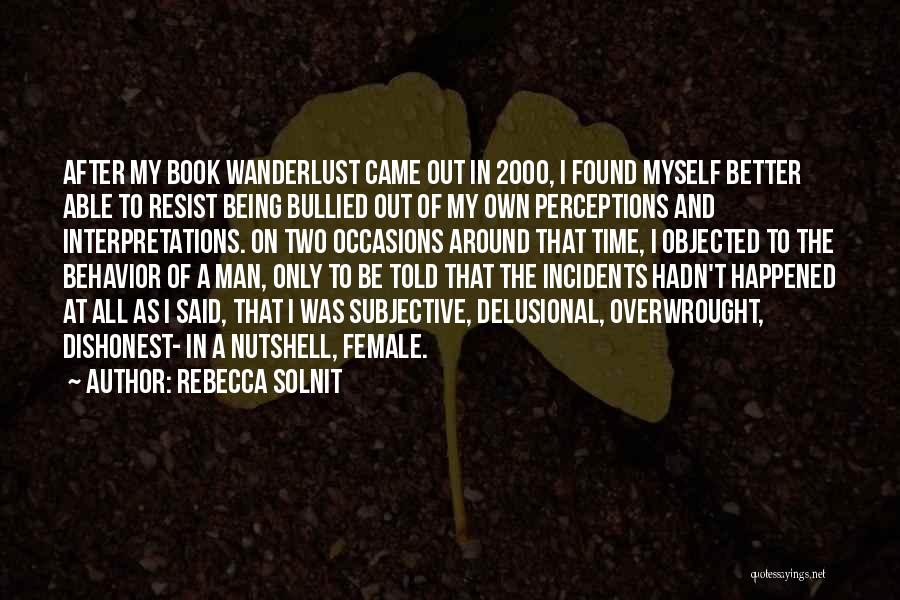 Time After Time Book Quotes By Rebecca Solnit