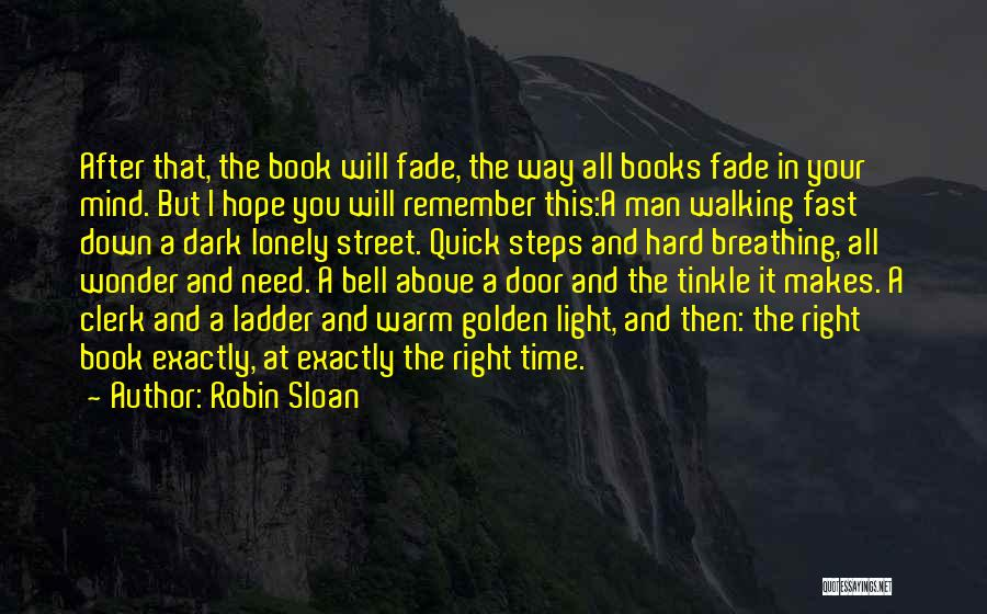 Time After Time Book Quotes By Robin Sloan