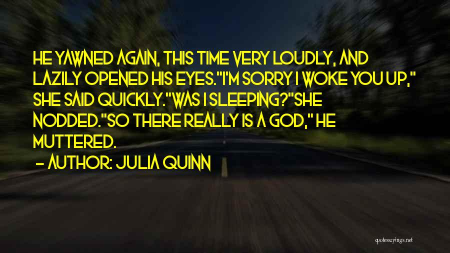 Time And God Quotes By Julia Quinn