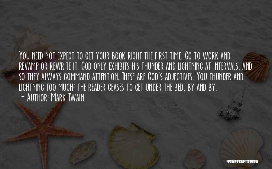Time And God Quotes By Mark Twain