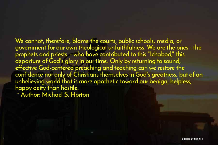 Time And God Quotes By Michael S. Horton