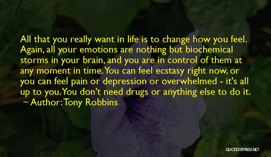 Time And Life Change Quotes By Tony Robbins