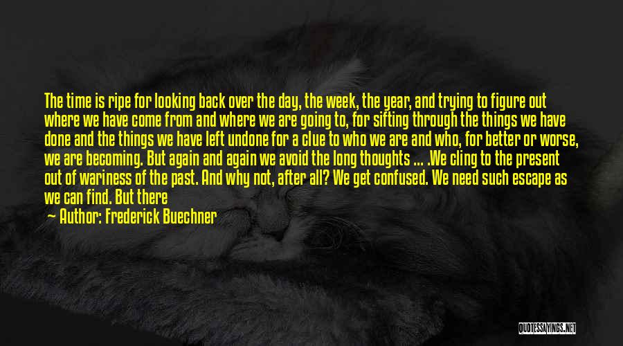 Time And Patience Quotes By Frederick Buechner
