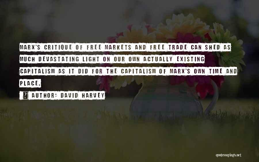 Time And Quotes By David Harvey