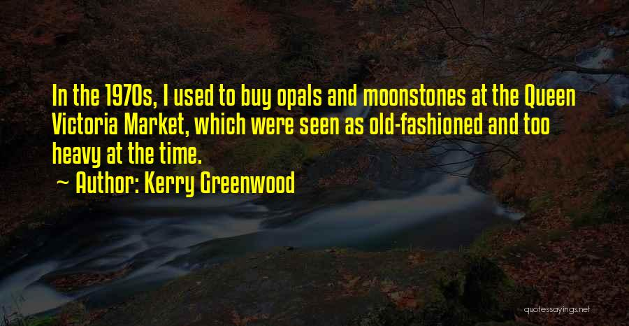 Time And Quotes By Kerry Greenwood