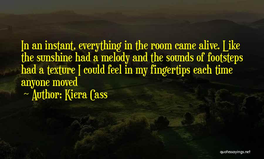 Time And Quotes By Kiera Cass