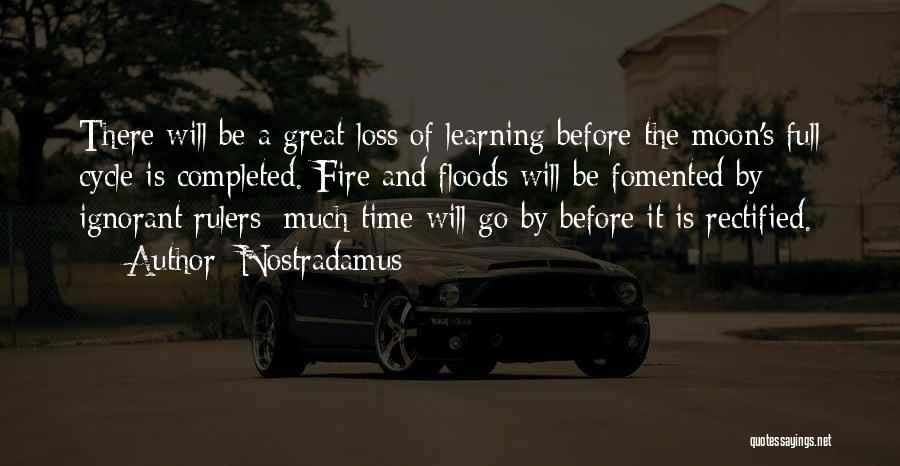 Time And Quotes By Nostradamus