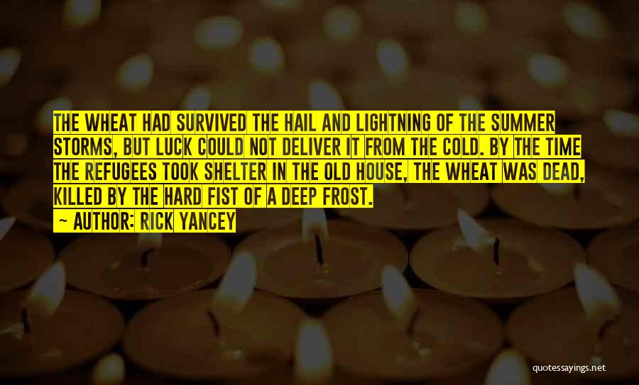 Time And Quotes By Rick Yancey