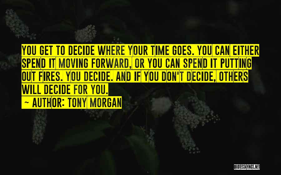 Time And Quotes By Tony Morgan