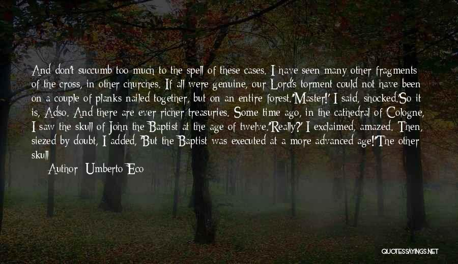 Time And Quotes By Umberto Eco