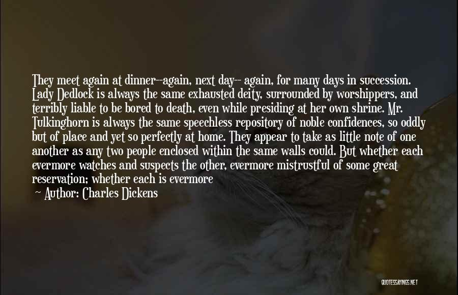 Time And Watches Quotes By Charles Dickens
