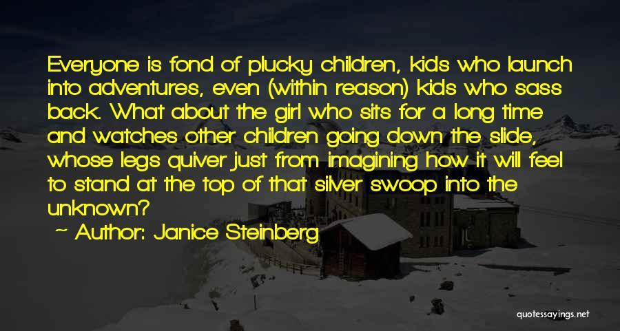 Time And Watches Quotes By Janice Steinberg