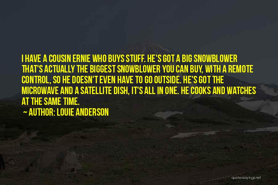 Time And Watches Quotes By Louie Anderson