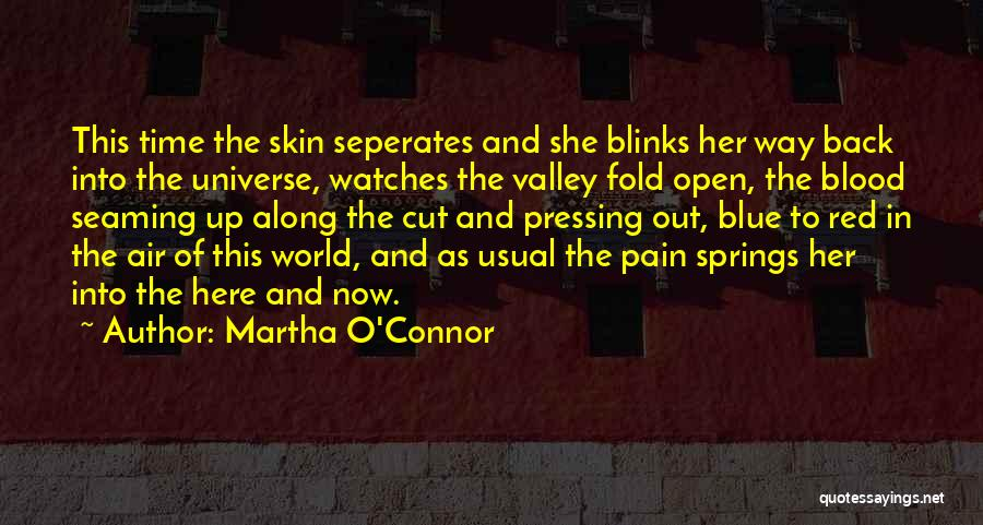Time And Watches Quotes By Martha O'Connor